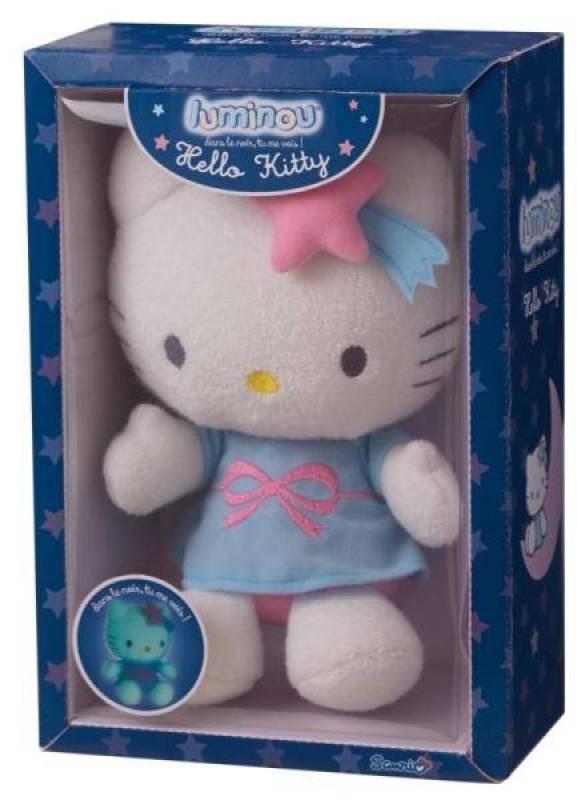 Jemini Peluche Hello Kitty Luminou 22 Cm