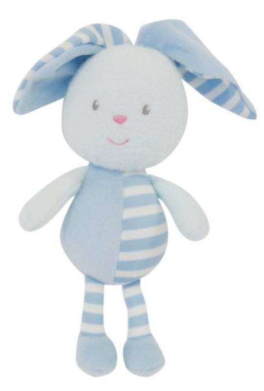 Jemini Peluche Luminou Lapin Bleu - 21 cm