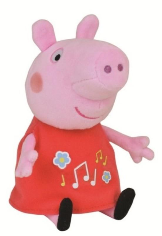 Peluche Musicale Peppa Pig - 20 cm de chez Jemini, collection Peppa Pig