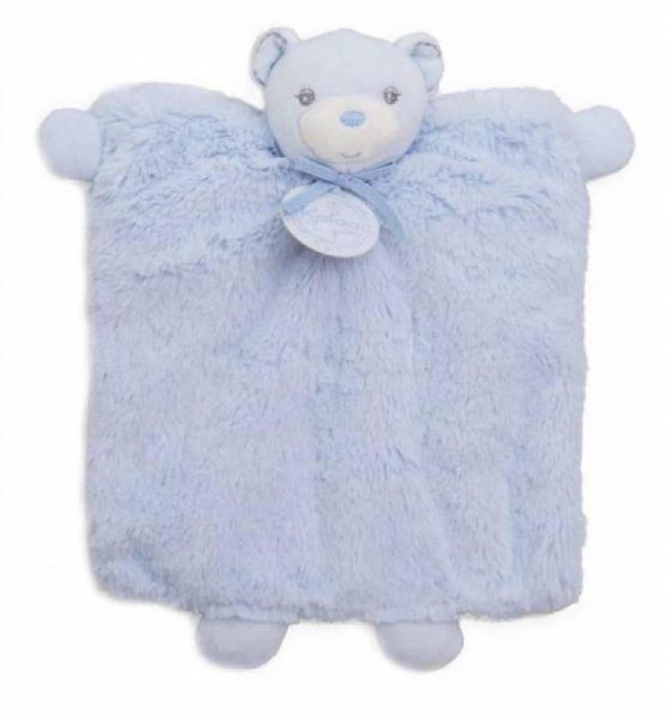 Kaloo Doudou Marionnette Ours Bleu Perle