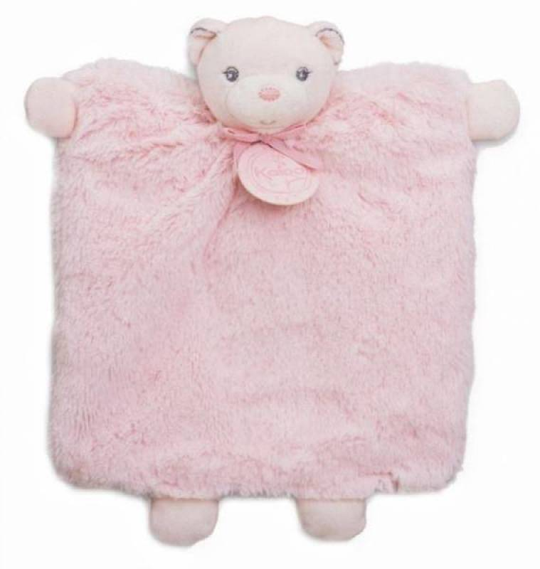 Kaloo Doudou Marionnette Ours Rose Perle