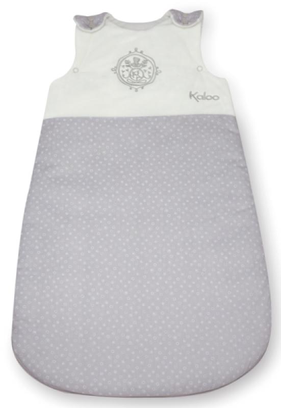 kaloo gigoteuse blanche grise perle 70 cm. Black Bedroom Furniture Sets. Home Design Ideas