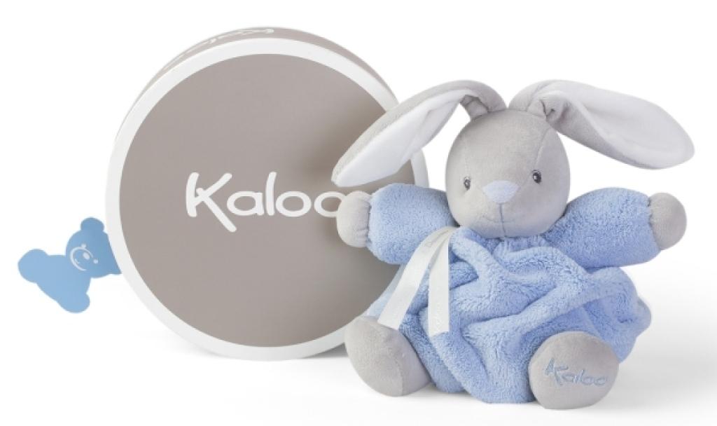 Kaloo Peluche Lapin Patapouf Bleu Plume Small - 20 cm