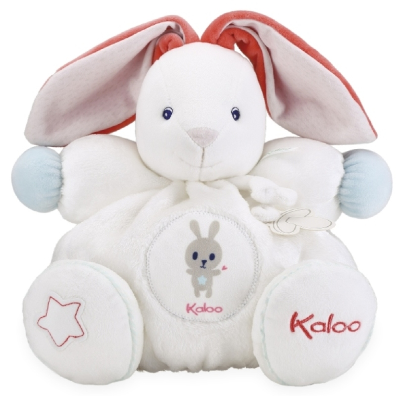 Kaloo Peluche Patapouf Lapinou Crème Large Imagine