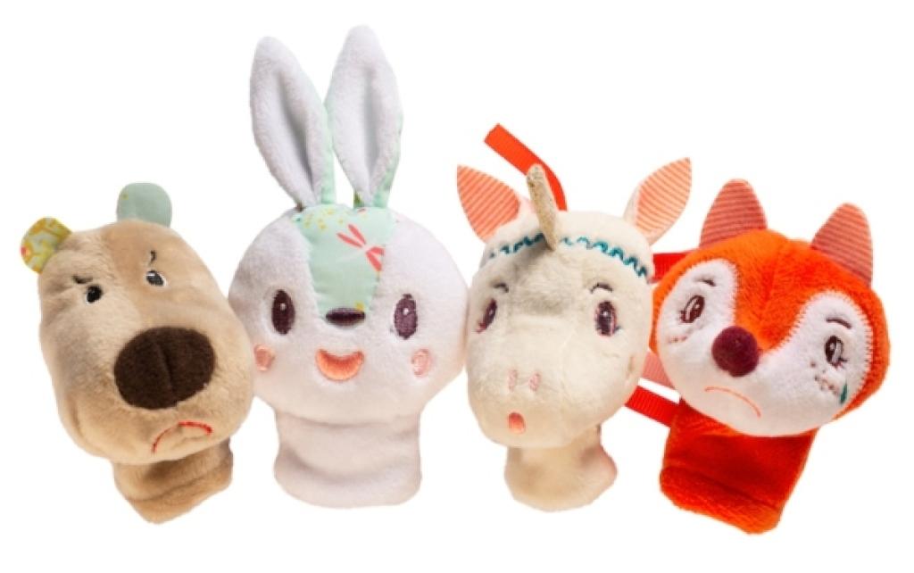 Lilliputiens Marionnettes à Doigts Forêt