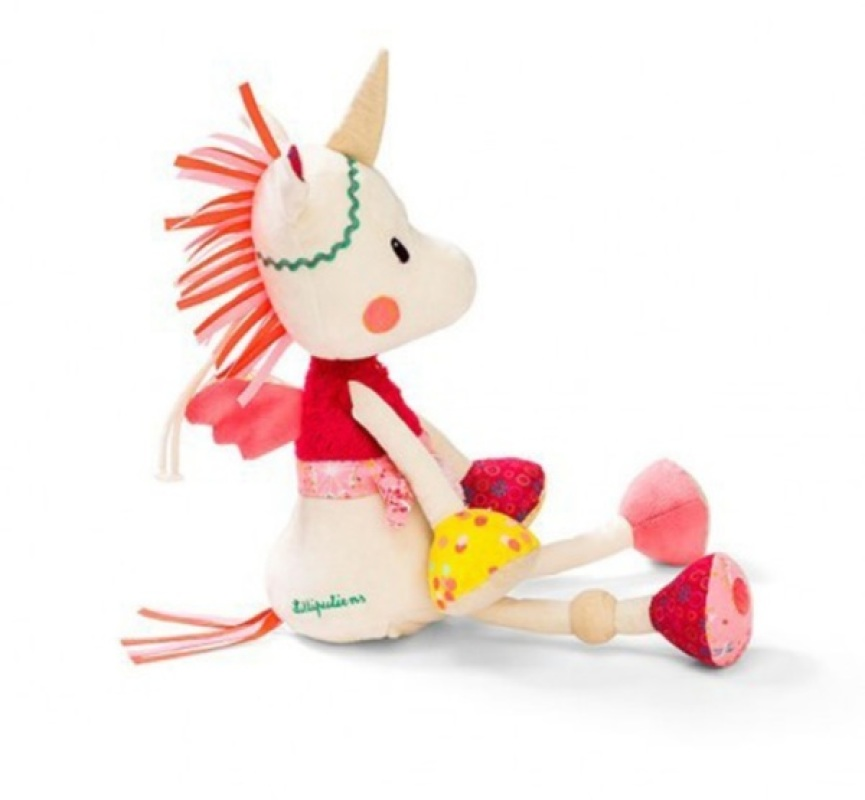 lilliputiens peluche veilleuse musicale licorne louise 40 cm. Black Bedroom Furniture Sets. Home Design Ideas