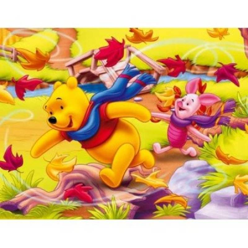 MB Puzzles 2x25 Pièces Winnie