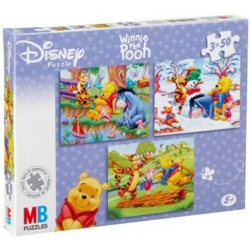 MB Puzzles Winnie l'Ourson - 3x50 Pièces