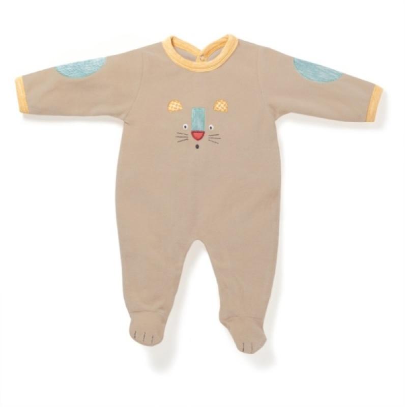 Moulin Roty Pyjama Panthère 1 mois