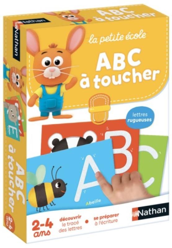 Nathan Jeux ABC à Toucher - La Petite Ecole