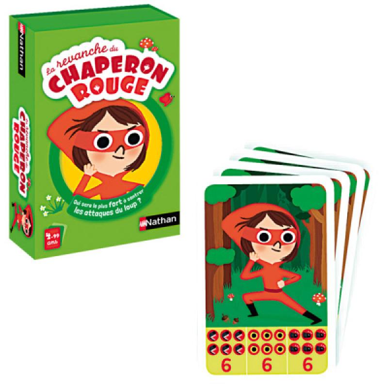 nathan jeux jeu de cartes la revanche du chaperon rouge. Black Bedroom Furniture Sets. Home Design Ideas
