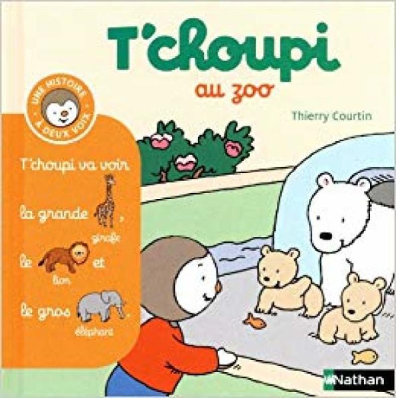 Livre Tchoupi Au Zoo