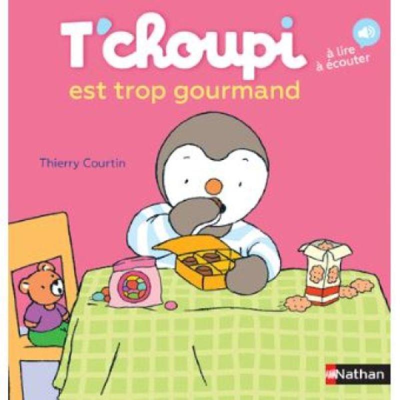 Livre Tchoupi Est Trop Gourmand