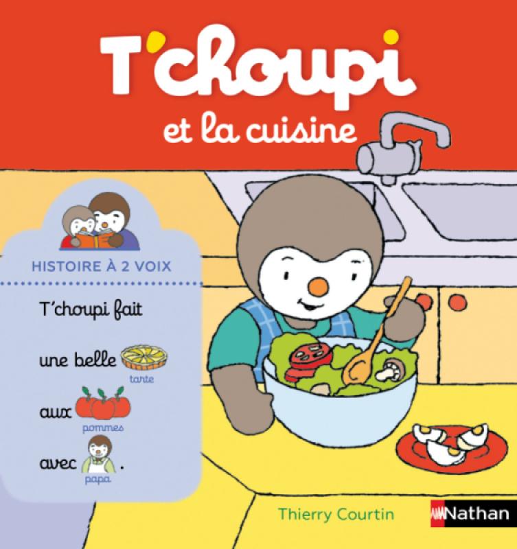 Livre Tchoupi Et La Cuisine
