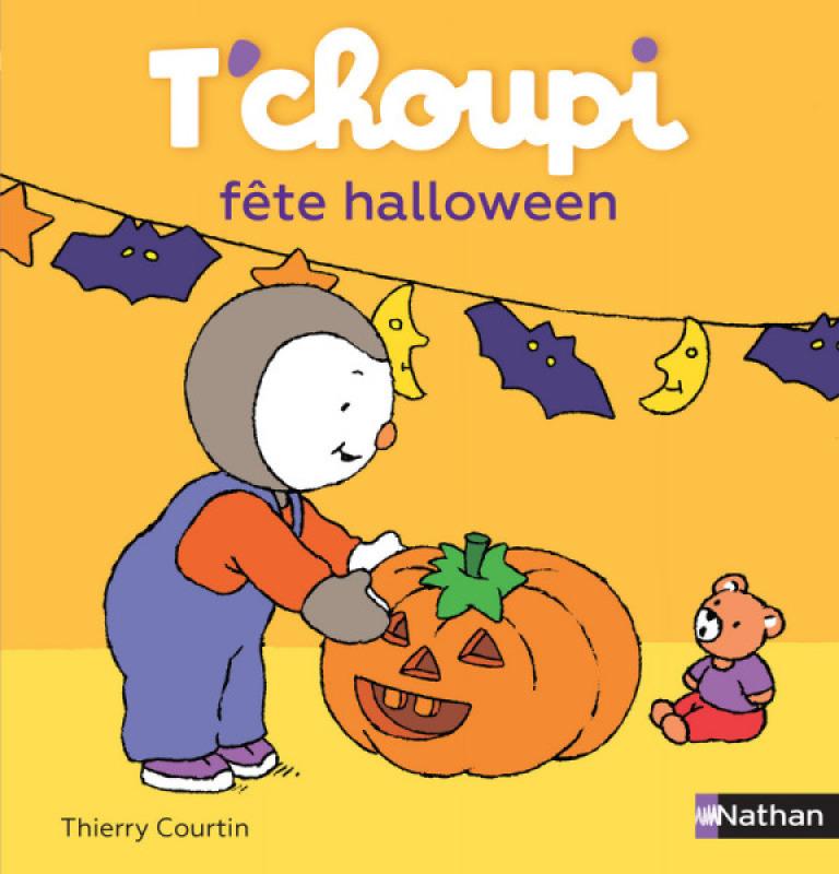Nathan Livre Livre Tchoupi fête Halloween