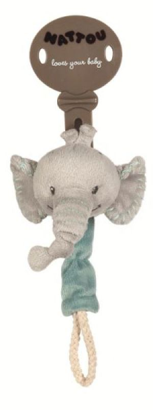 Nattou Attache Tétine Eléphant Jack