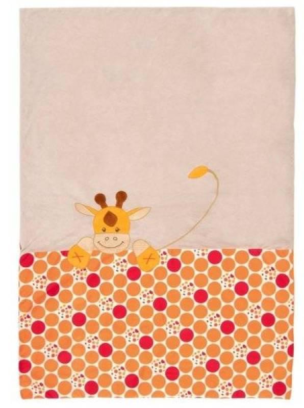 Nattou Edredon Jungle Girafe Orange - 120x85 cm