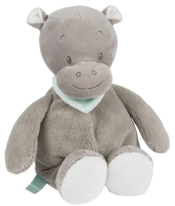 Nattou Peluche Hippopotame Hippolyte - 28 cm