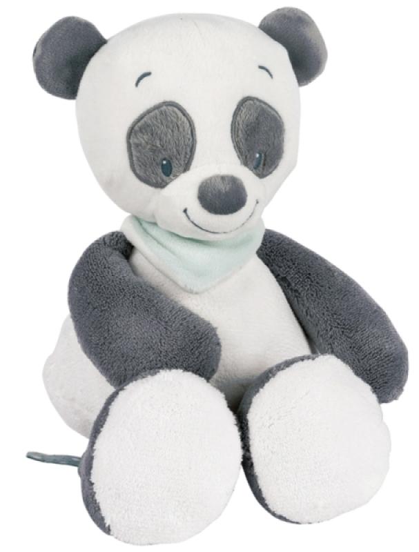 Nattou Peluche Panda Loulou - 28 cm