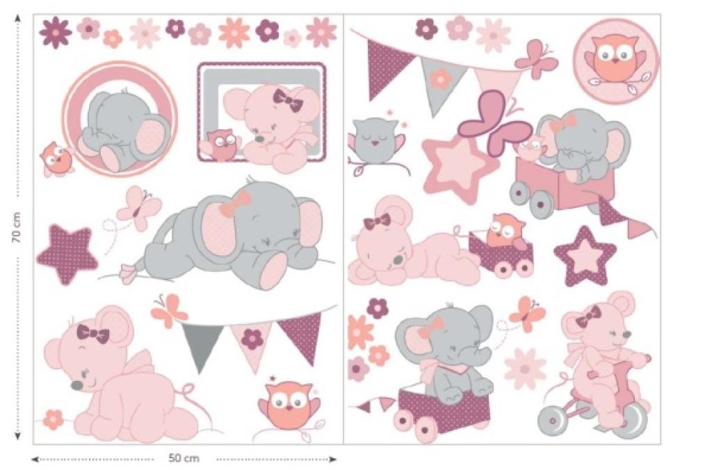 Nattou Stickers Adèle et Valentine
