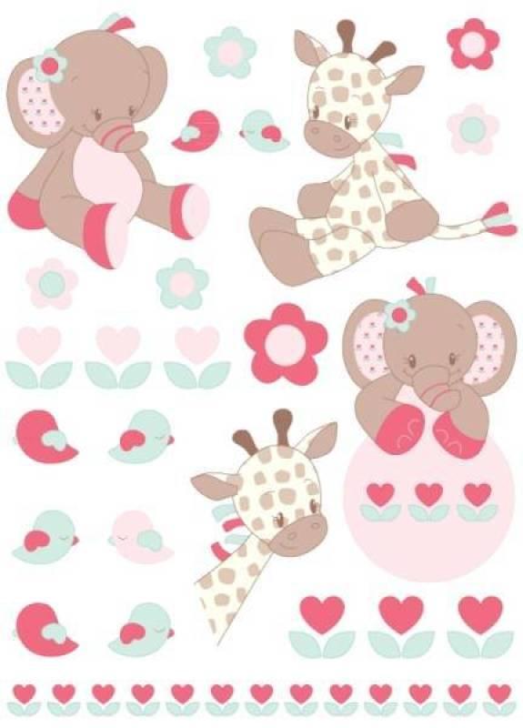 Nattou Stickers Charlotte Et Rose Doudouplanet
