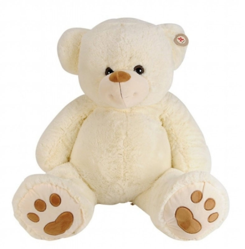 Nicotoy Peluche Ours Ivoire - 100 cm