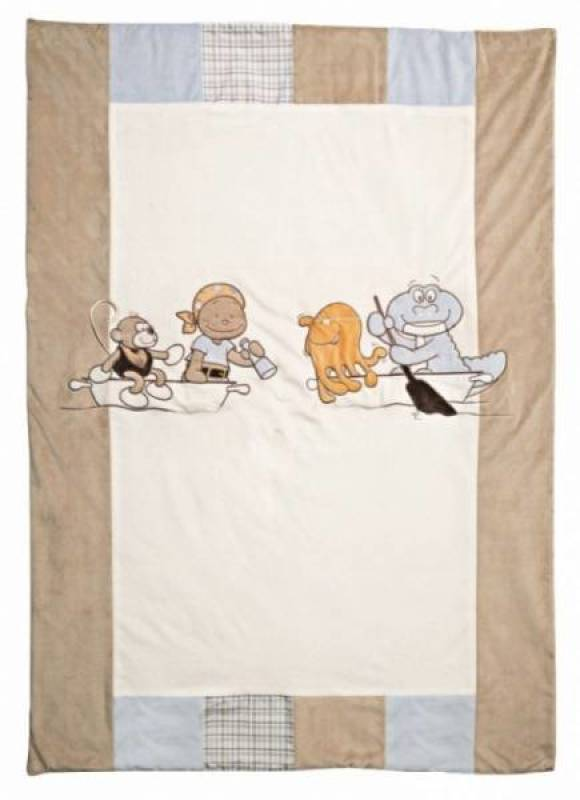 Noukies Edredon Bill et Bono - 100x140 cm