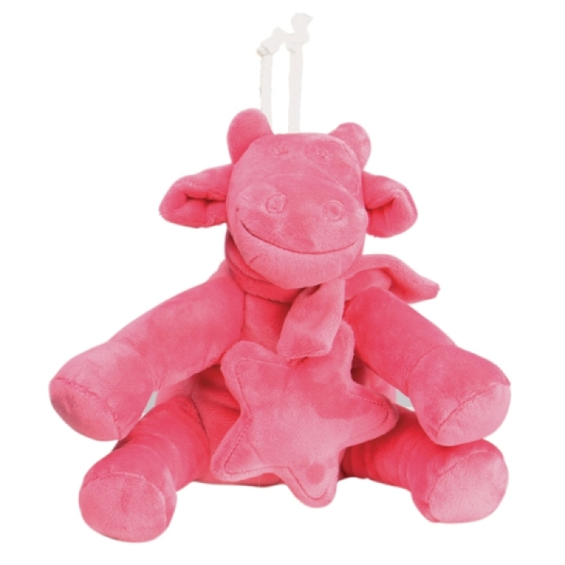 Noukies Peluche Musicale Vache Lola Framboise Mix and Match