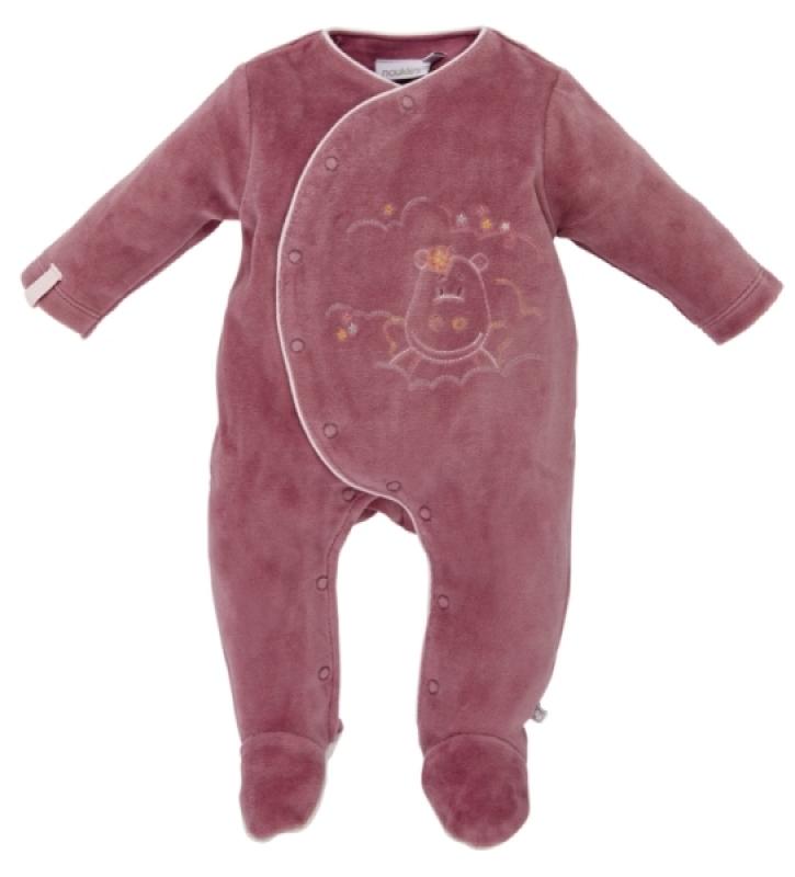 Noukies Pyjama Dragon Victoria Camelia - 1 mois