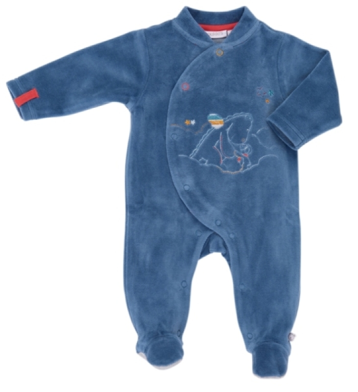 Noukies Pyjama Guss et Victor Bleu - Naissance