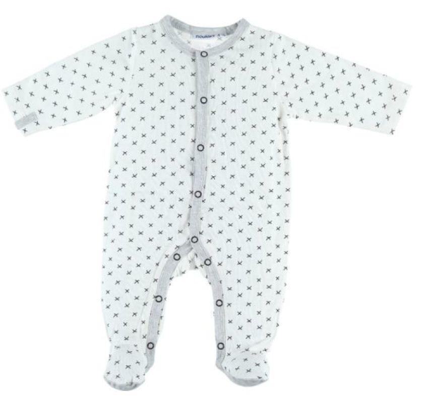 Pyjama Jersey Timeless - 1 Mois de chez Noukies, collection Pyjamas Garçon