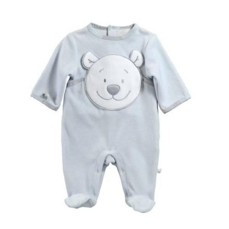 Noukies Pyjama Ours Nouky Bleu - 3 Mois