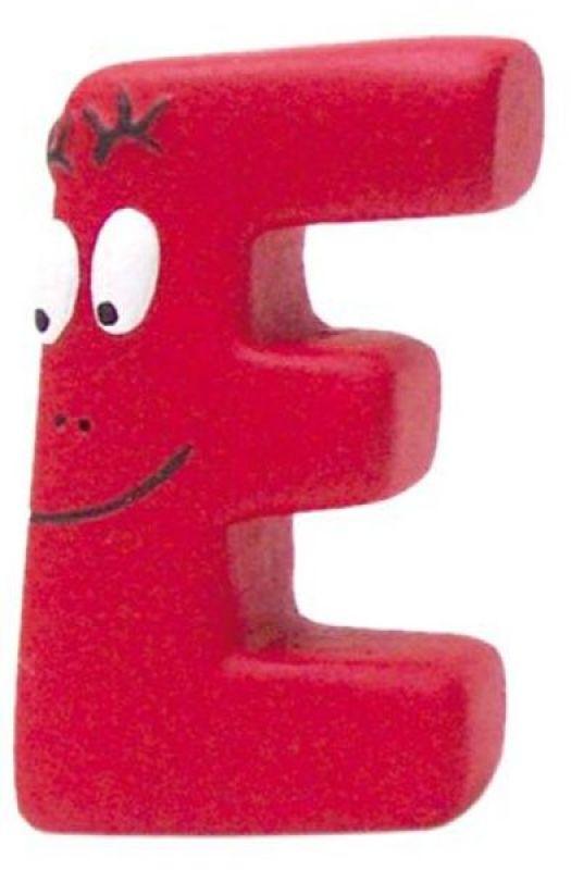 Plastoy Figurine Lettre E Barbidur
