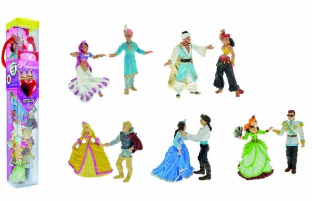 Plastoy Tube 10 Figurines Le Bal des Princesses