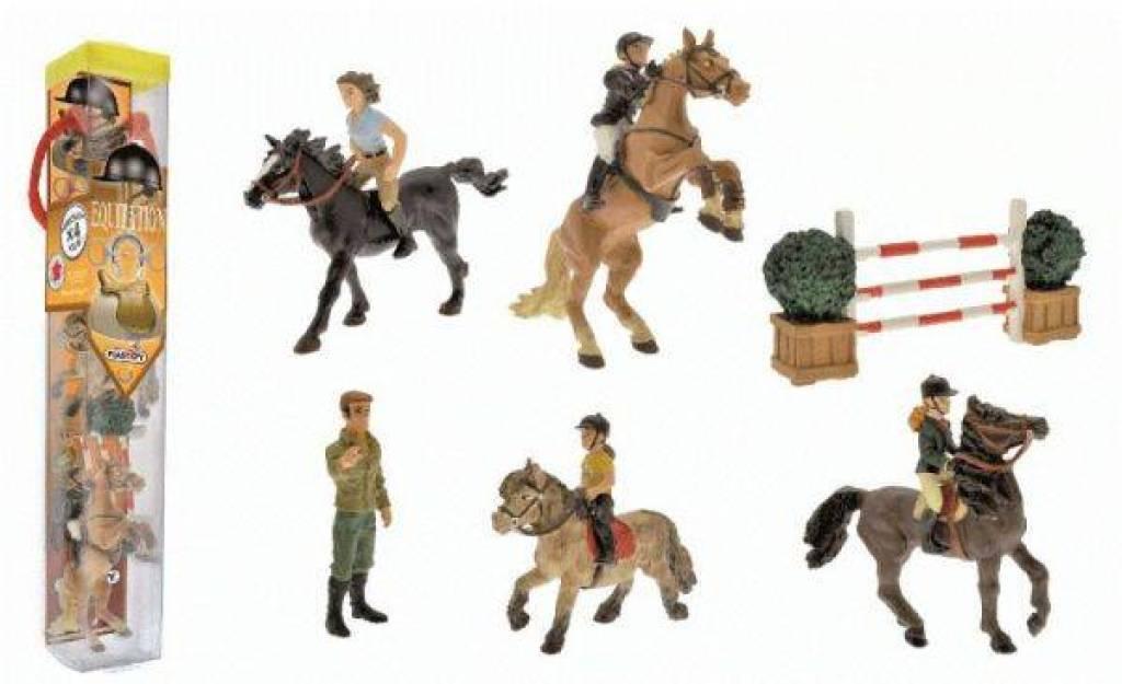 Plastoy Tube Figurines Equitation
