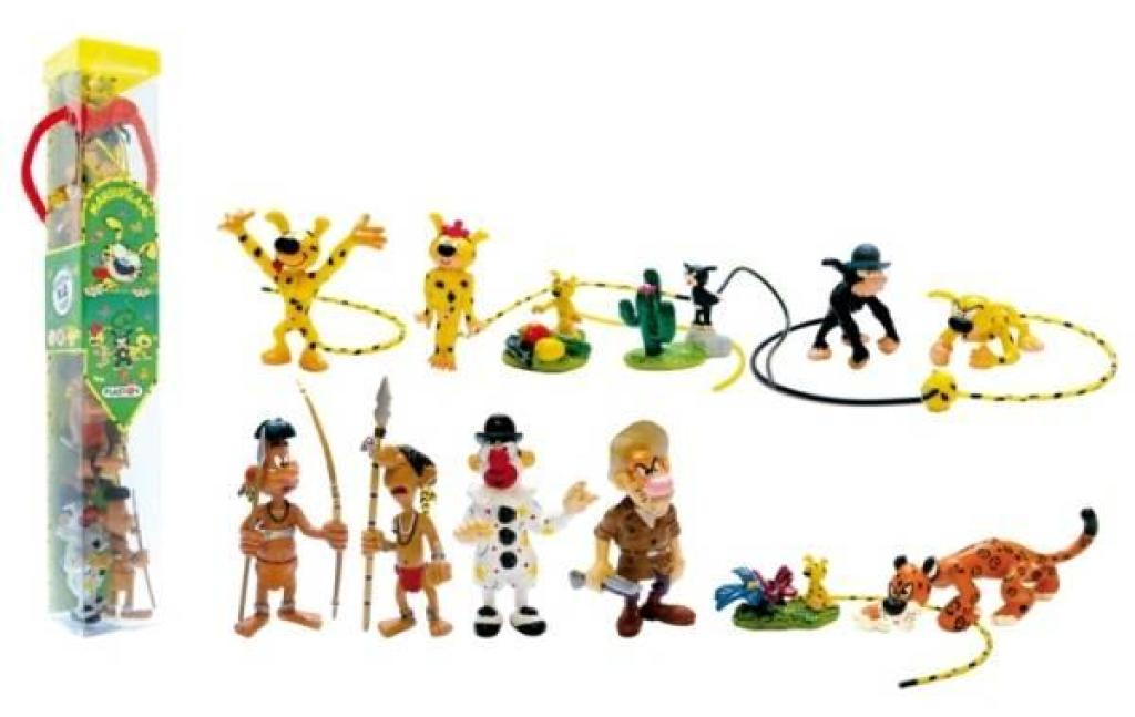 Plastoy Tube Figurines Marsupilami