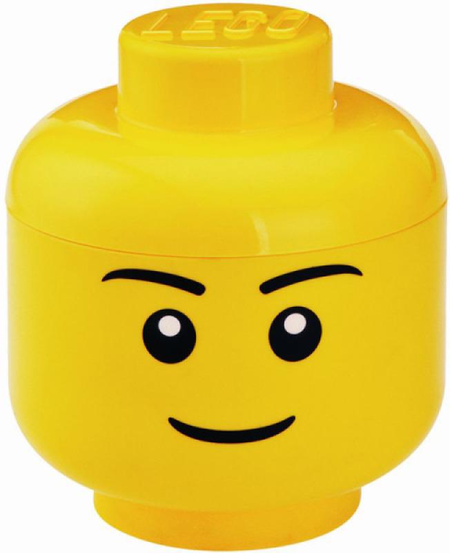 Room Studio Grande Tête de Rangement Lego Large Garçon