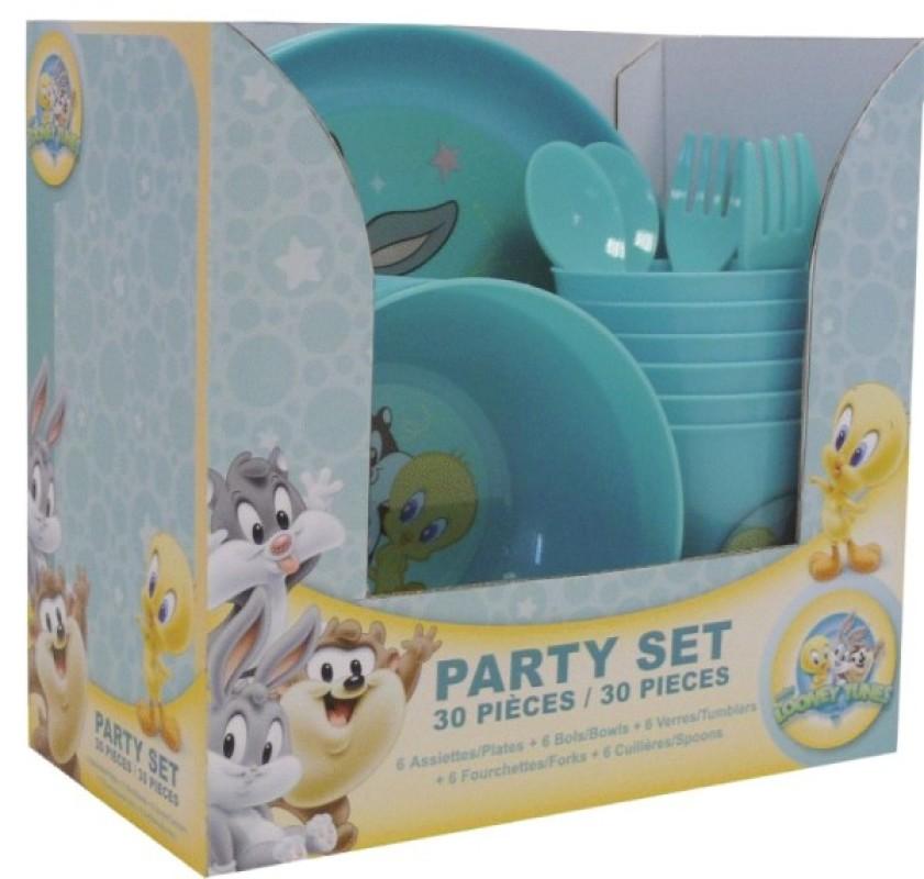 Party Set Baby Looney Tunes 30 pièces de chez Spel, collection Le Goûter