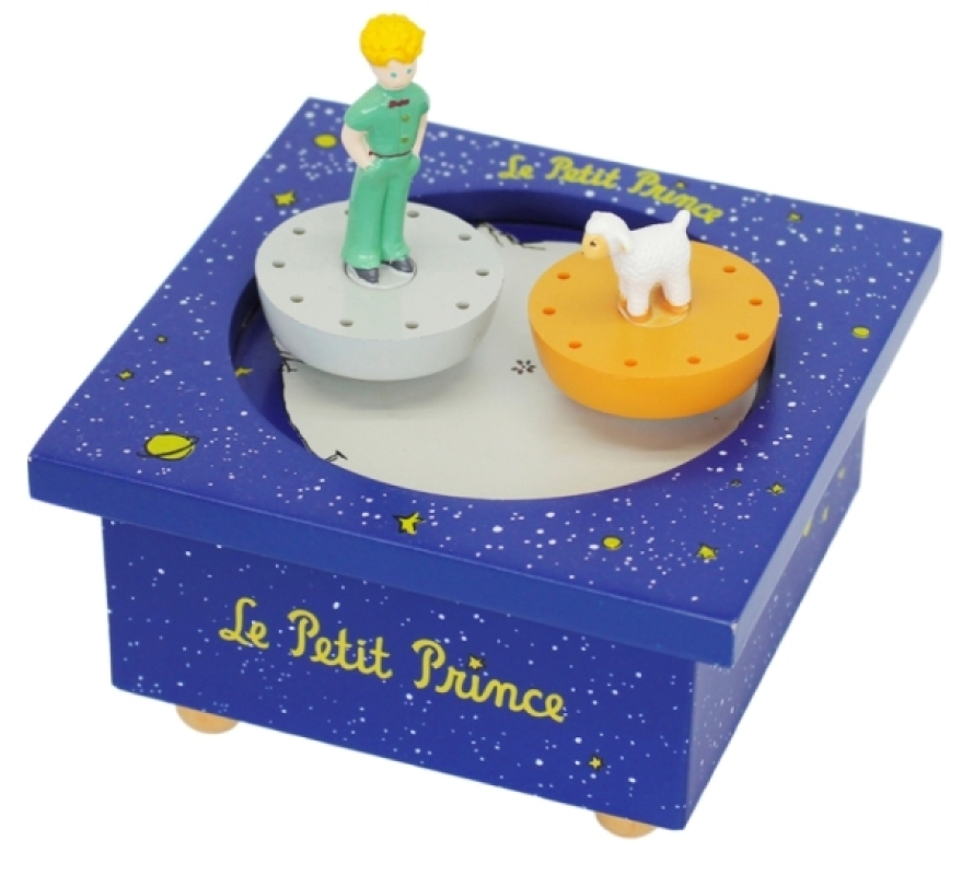 trousselier bo te musique bois le petit prince. Black Bedroom Furniture Sets. Home Design Ideas