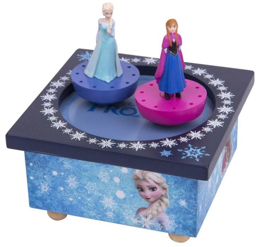 Trousselier Boite à Musique La Reine des Neiges Elsa et Anna