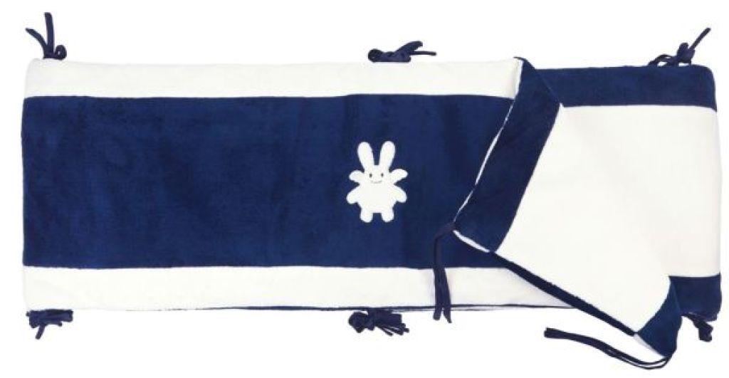 trousselier tour de lit complet et tour parc ange lapin marine. Black Bedroom Furniture Sets. Home Design Ideas