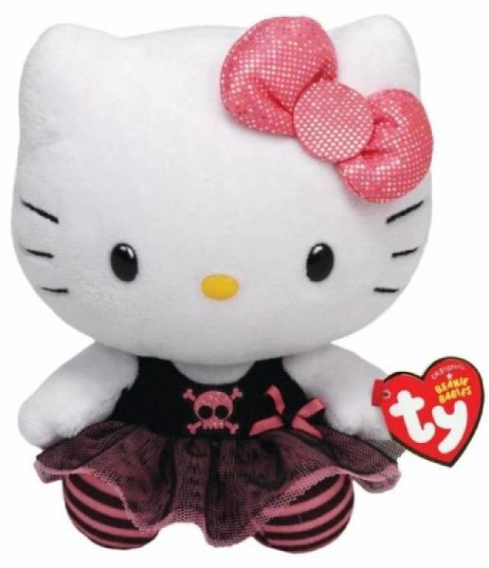 Ty Peluche Hello Kitty Punk Beanie Babies - 28 cm