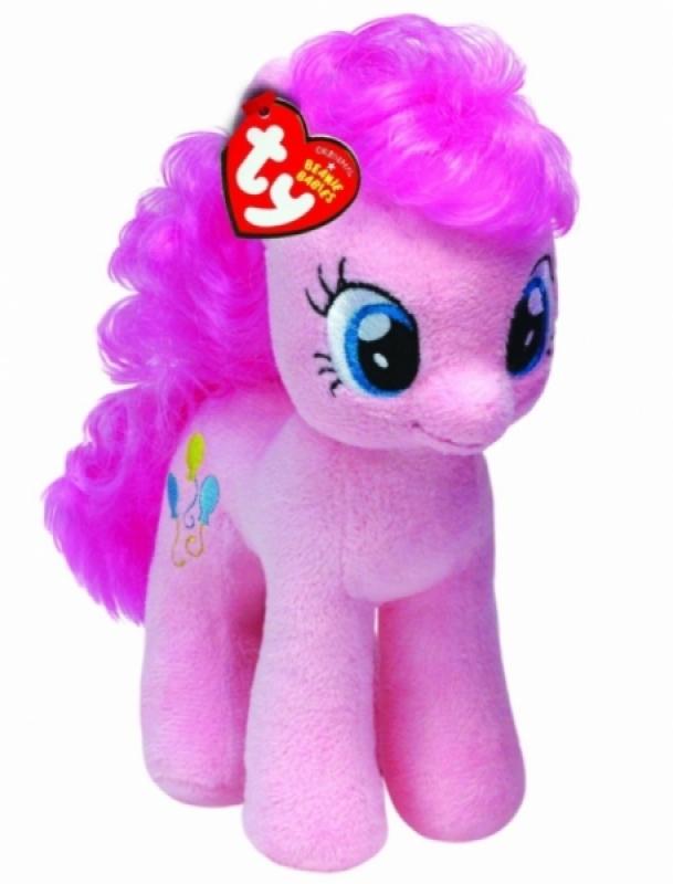 Ty Peluche Mon Petit Poney Pinkie Pie - 30 cm