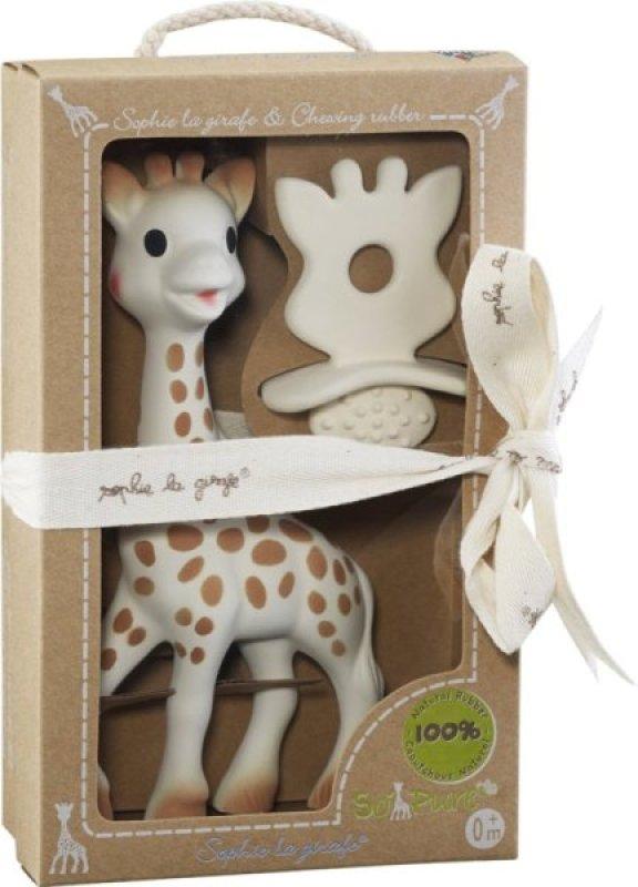Coffret Girafe Sophie et Sucette Dentition So Pure de chez Vulli, collection So Pure