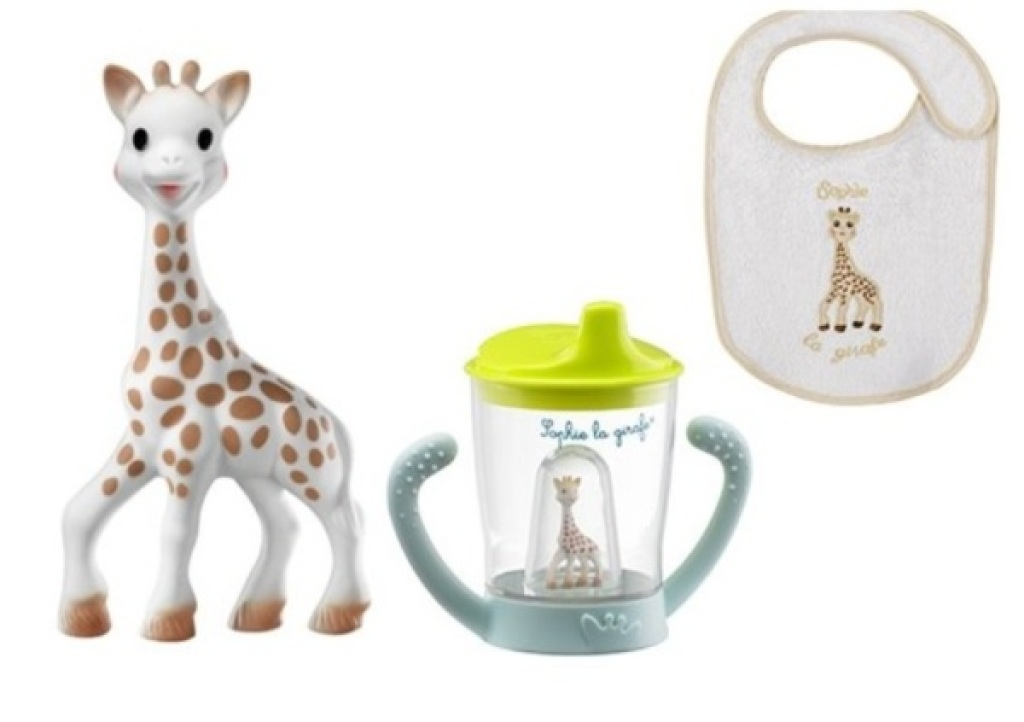Vulli Set Tasse Anti-Fuite Sophie la Girafe