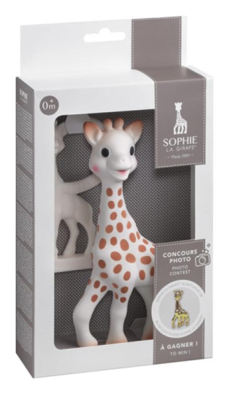 Vulli Sophie la Girafe et Anneau de Dentition Vanille