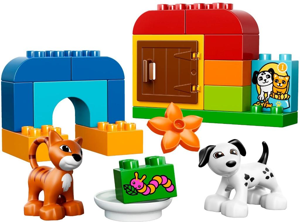 duplo boite de briques et d 39 animaux doudouplanet. Black Bedroom Furniture Sets. Home Design Ideas