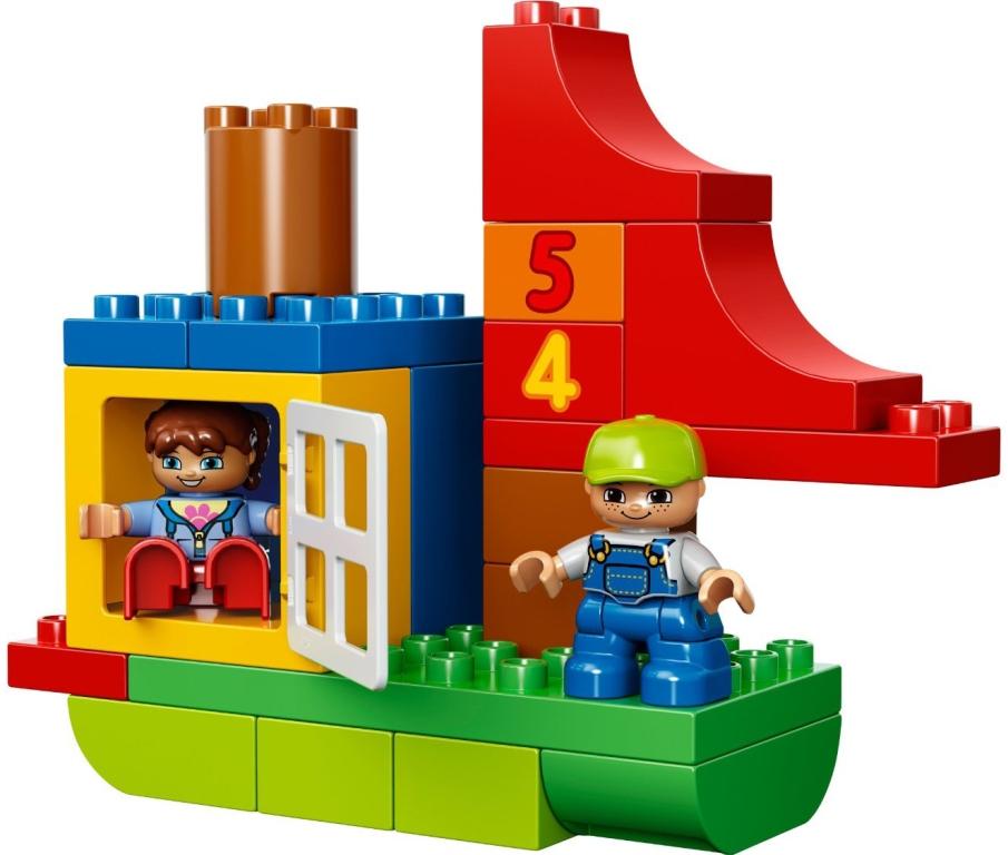 Lego - Duplo xl boite amusante de luxe Doudouplanet