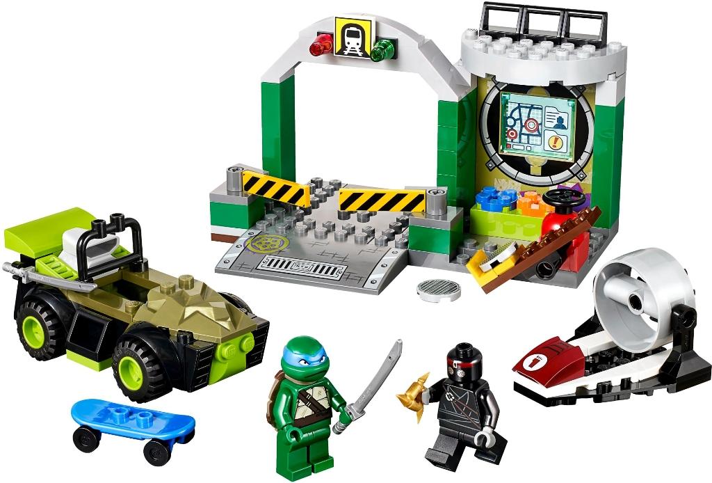 Lego le repaire des tortues ninja doudouplanet - Le nom des tortue ninja ...