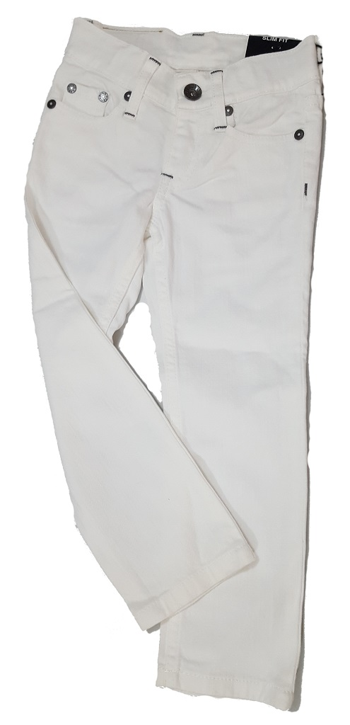 Pantalon Jeans Jael White Fille 6 Ans